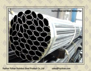 304 Stainless Steel Welded Oval Pipe pictures & photos