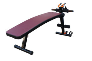 Hot Sale Home Fitness Equipment Super Sit up Bench with Resistance Bands pictures & photos