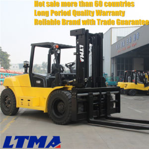 Made in China 10 Ton Lifting Capacity Diesel Forklift pictures & photos