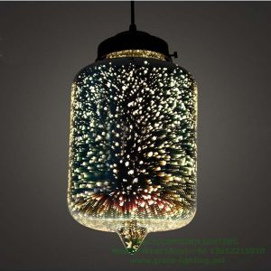 Creative Pendant Lights of Cafe Shop with 3D Light (GD-7014-1 3D) pictures & photos