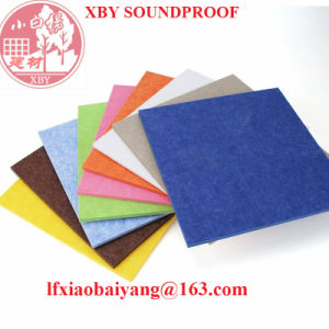 Soundproof Television Station Polyester Fiber Acoustic Panel Wall Panel Ceiling Panel pictures & photos