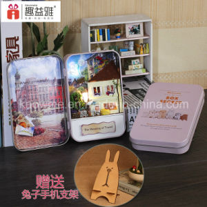 Popular Handmade Beautiful Wooden Toy DIY for Gift pictures & photos