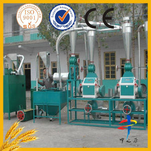 Maize Flour Machine and Electric Grinding Mill with Simple Corn Processing Method pictures & photos