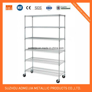 Metal Wire Display Exhibition Storage Shelving for Slovakia Shelf pictures & photos
