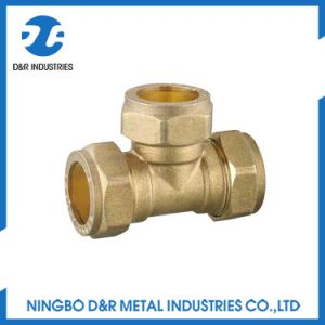 Dr 3 Way Brass Thread Pipe Connector Fittings pictures & photos