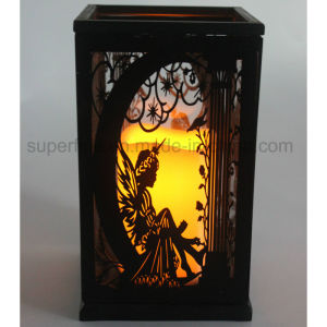2017 New Modern Type Hollow out Design Romantic LED Candle Lantern Light pictures & photos