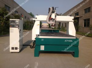 Stone Carving CNC Router with Big Rotary for Granite Statue pictures & photos