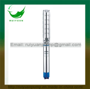 8 Inches NEMA Standard Stainless Steel Deep Well Electric Submersible Water Pump for Farm (8SP77) pictures & photos