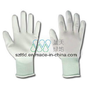 PU Palm Fit Gloves (LTLD512) pictures & photos