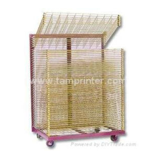 TM-50dg Galvanized Stainless Steel Screen Printing Drying Racks pictures & photos