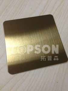 201 304 Decorative Stainless Steel Plate with Satin Hairline Finish pictures & photos