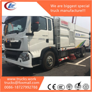 Specialized Vehicle Sinotruk HOWO 4X2 Road Sweep and Washing Truck pictures & photos
