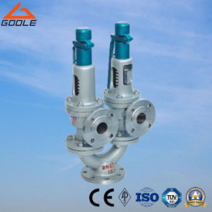 A43h Twin Spring Double Port Full Lift Safety Valve pictures & photos