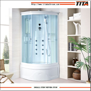 White Acrylic Back Shower Cabin Alps-D pictures & photos