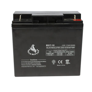 12V 17ah Maintenance Free Lead Acid Battery pictures & photos