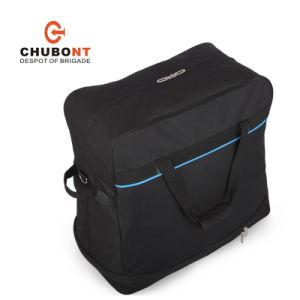 Chubont Khaki Color Expandable 5 Wheels Travel Handbag pictures & photos