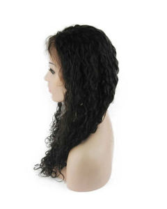 """18"""" 2# Curly Lace Front Wig"""