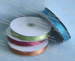 Hot Selling Metalic Golden Ribbon, China Cheap Bias, Metallic Glitter Ribbon pictures & photos