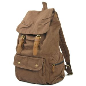 Canvas Outdoor Hiking Camping Trekking Hunting Daypack (RS-2105) pictures & photos
