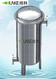 10t Flange Water Treatment Ss304 Bag Filter Housing pictures & photos