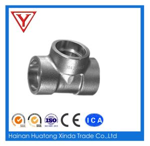 Forged Steel Socket Weld Tee pictures & photos