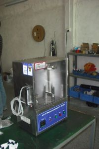 Automotive Horizontal Flame Chamber & Flammability Tester pictures & photos