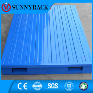 Powder Coating Warehouse Storage Industry Heavy Duty Steel Pallet pictures & photos