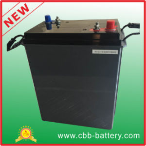6V310ah Deep Cycle LED Lamp & Lawn Mover Gel Storage Golf Trolley Battery Hot Selling pictures & photos