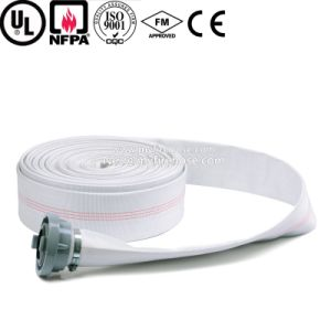 High Pressure Fabric Fire Resistant Water Discharge Hose pictures & photos