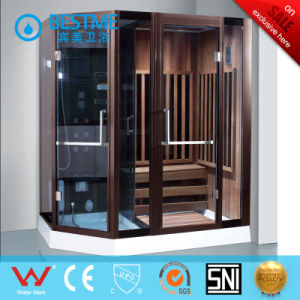 Solid Wood Luxury Enclosed Steam Shower Room (BZ-5030) pictures & photos