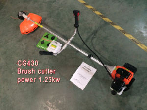 Top Quality 2 Stroke Brush Cutter Cg430 Brush Cutter 43cc Brush Cutter Price China pictures & photos
