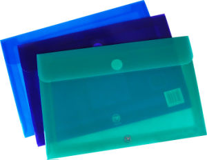 Stationery Supplier Office Worker Transparent Window Paper Bag pictures & photos