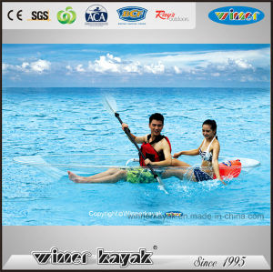 2 Persons Max Capacity Freely Assembled Full Transparent Kayak pictures & photos