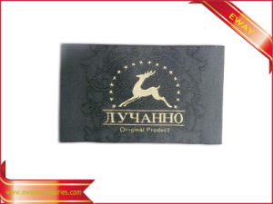 High Density Fabric Label Woven Label Clothing Label pictures & photos