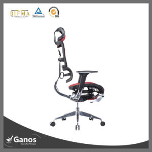 Hot Sale Flexible Armrest Nylon Flame Aluminum Base Office Chair pictures & photos