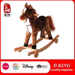 Plush Rocking Horse Rocking Animal for Kids pictures & photos
