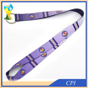 Promotion Gift Lanyard with Metal Ring pictures & photos