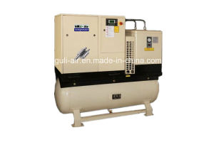 Hot Sale Rotary Screw Air Compressor with Air Tank pictures & photos