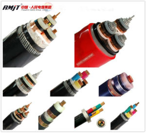 High Voltage XLPE/PVC Insulated Armored Power Cable pictures & photos