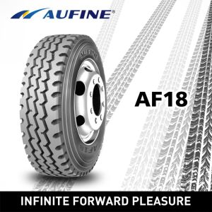 Aufine Brand Tires with Labeling (11R22.5, 12R22.5) pictures & photos