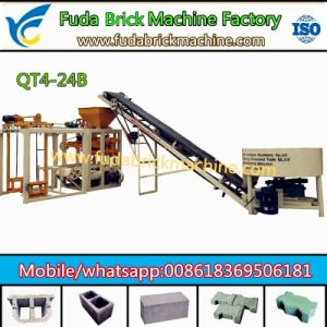 Selling Well Semi Automatic Hollow Brick Machine, Interlocking Brick Machine, Paver Brick Machine pictures & photos