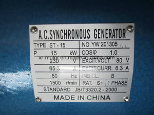 Tesila Hot Sale Dynamo Generator Alternator Price List pictures & photos