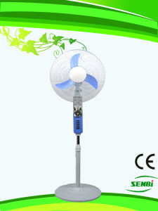 16inches Rechargeable Stand Fan 12V DC Fan