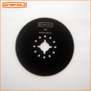 "HSS Round Oscillating Saw Blade 3-1/8"" (80mm) for Cutting Woods pictures & photos"