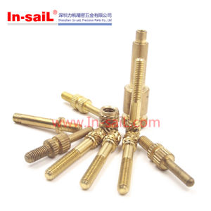 Brass Knurled Insert, Brass Bolt, Brass Screw pictures & photos