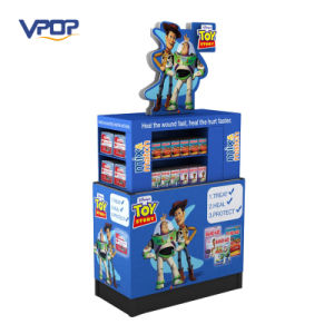 Stackable Cardboard Point of Sale Dump Bin for Toys