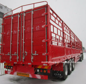 Warehouse Column Semitrailer with Short Locks pictures & photos