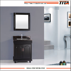 High Quality Marble Top Bathroom Vanity Cabinet T9091-36e pictures & photos