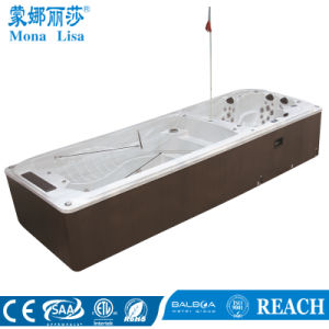 Monalisa 6.8m Outdoor Swim Whirlpool SPA Jacuzzi Bathtub Function (M-3373) pictures & photos