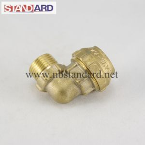 Brass PE Elbow Fittings
